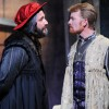 Shylock and Antonio square off for the media